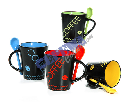 Sorted cup<br> &quot;coffee<br> color&quot;, ...