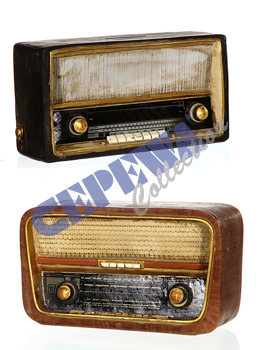 "Moneybox ""Retro Radio"" sorted,"