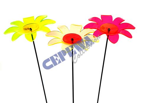 Lichtfänger<br>  Blume , sortiert,<br>ca. 95cm