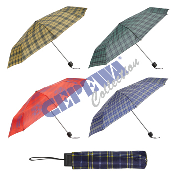 Sorted umbrella<br> &quot;Karo&quot;,<br>4-fold