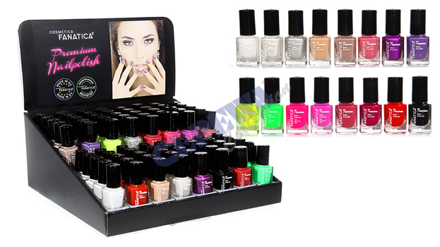 "Nail polish ""Basic"", 12 ml sorted,"