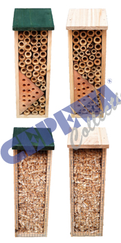 Insect hotel, 4 assorted