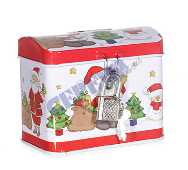 "Moneybox ""Xmas"" treasure chest"
