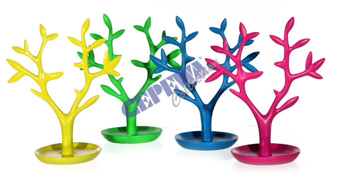 Sorted jewelry<br> holder  tree ,<br>4-fold