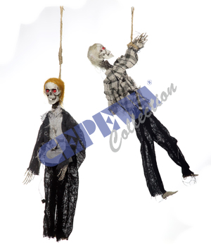 Zombie, hanging, 2<br>assorted animated,