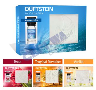 *Werbung*<br> Duftstein- Set,<br>4-fach sortiert