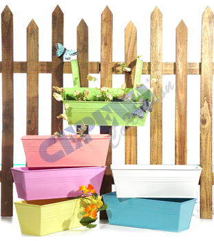 Pflanzkasten<br> Pastell Spring,<br>6-fach sortiert