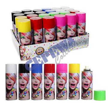 Colour hairspray,<br>24er display, 250 ml