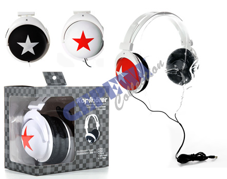 Trend headphones, stereo, assorted 3-fold.