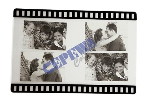 Platzmatte<br> Filmstreifen für 4<br>Fotos, 28x43cm